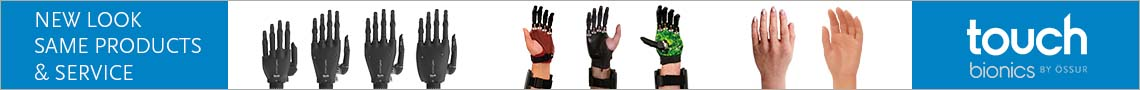 AD: Touch Bionics - New Look, Same Products and Service